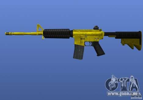 M4A1 pour GTA 4