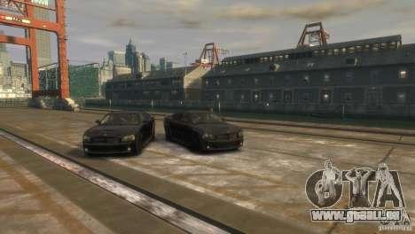 Dodge Charger Fast Five pour GTA 4 est un droit