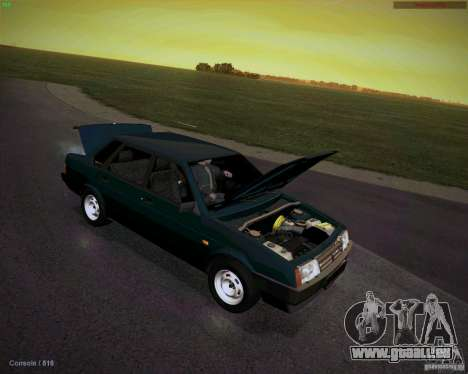VAZ 21099 Drain für GTA San Andreas Rückansicht