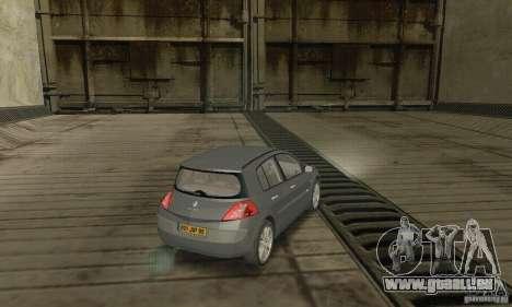Renault Megane II 2005 pour GTA San Andreas laissé vue