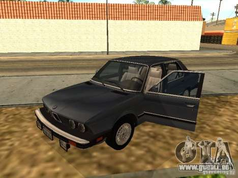 BMW 535is E28 pour GTA San Andreas