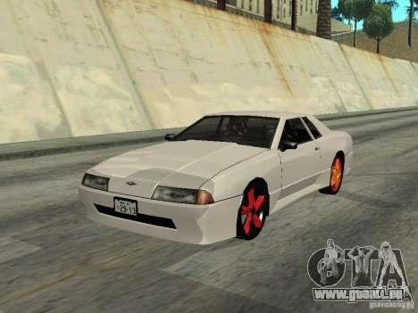 Elegy 29-13 pour GTA San Andreas sur la vue arrière gauche