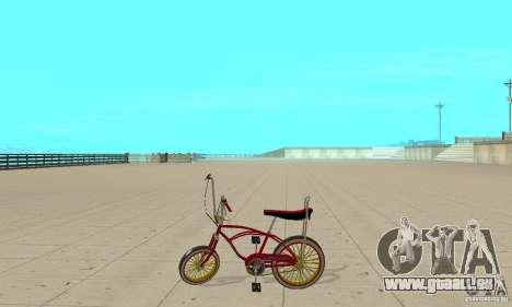 CUSTOM BIKES BMX pour GTA San Andreas laissé vue