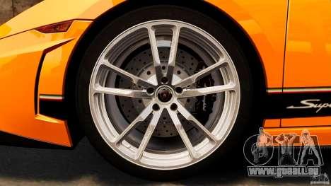 Lamborghini Gallardo LP570-4 Superleggera pour GTA 4 vue de dessus