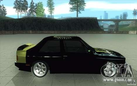 BMW E30 323i für GTA San Andreas linke Ansicht