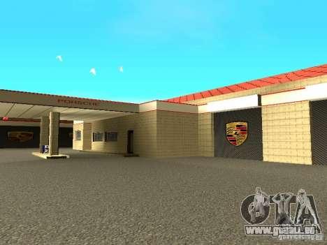 Garage Porsche pour GTA San Andreas sixième écran