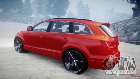 Audi Q7 LED Edit 2009 pour GTA 4 est un côté