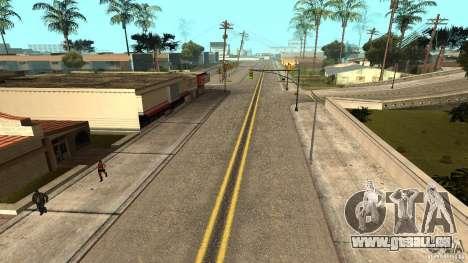 New HQ Roads pour GTA San Andreas deuxième écran