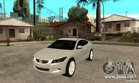 Honda Accord Coupe 2009 pour GTA San Andreas