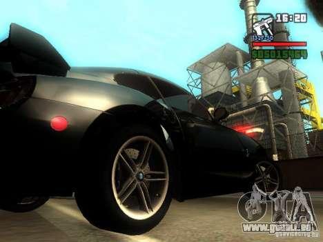 BMW Z4 M 07 für GTA San Andreas rechten Ansicht