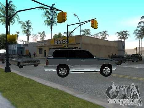 Toyota Land Cruiser 100 VX für GTA San Andreas rechten Ansicht