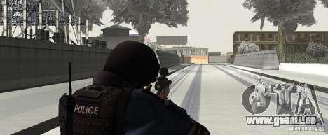 Fusil de GTA IV pour GTA San Andreas quatrième écran