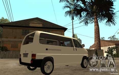 Volkswagen Transporter T4 für GTA San Andreas rechten Ansicht