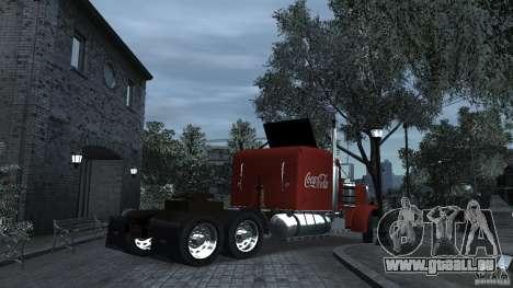Coca-Cola pour GTA 4 Vue arrière de la gauche