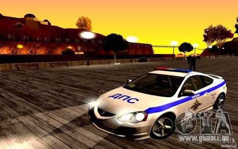 Acura RSX-S Polizei für GTA San Andreas