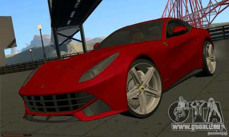 Ferrari F12 Berlinetta BETA pour GTA San Andreas