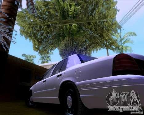 Ford Crown Victoria 2009 Detective für GTA San Andreas Seitenansicht