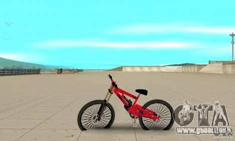 Neue BMX für GTA San Andreas linke Ansicht