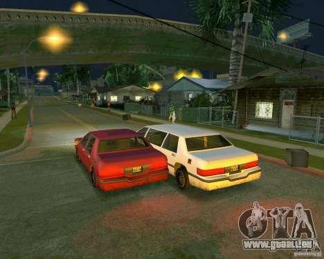 Elegant Limo für GTA San Andreas rechten Ansicht