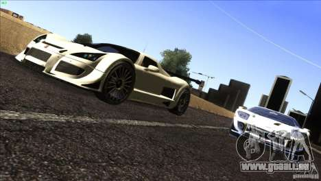 Gumpert Apollo für GTA San Andreas linke Ansicht