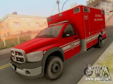 Dodge Ram 1500 LAFD Paramedic für GTA San Andreas