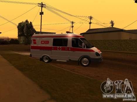 Ambulances de la Gazelle pour GTA San Andreas laissé vue