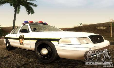 Ford Crown Victoria Pennsylvania Police pour GTA San Andreas