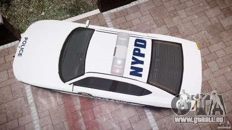 FIB Buffalo NYPD Police pour GTA 4 vue de dessus