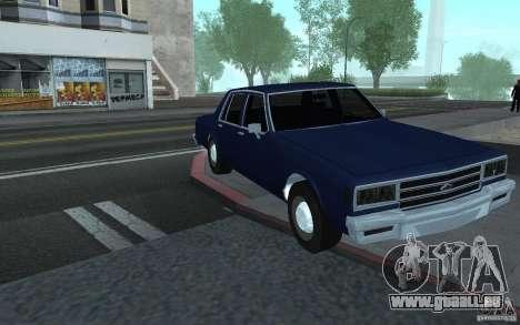 1983 Chevrolet Impala pour GTA San Andreas