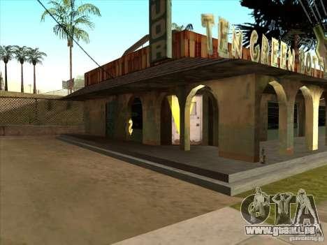 Affaires juridiques Cidžeâ pour GTA San Andreas deuxième écran