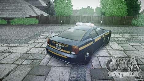 New York State Police Buffalo für GTA 4 Seitenansicht