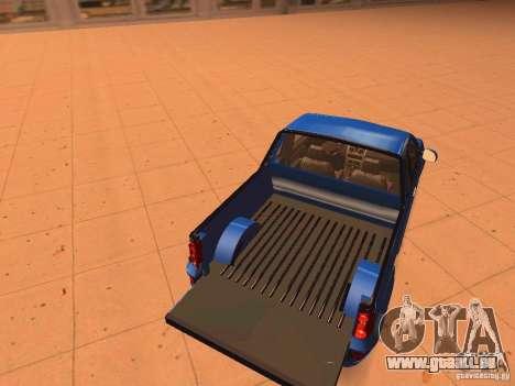Nissan NP200 pour GTA San Andreas vue intérieure