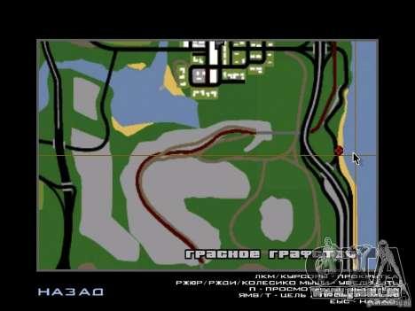 Das geheime unterirdische Stadt v1. 0 für GTA San Andreas her Screenshot
