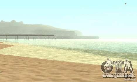 0,075 ENBSeries (juste de l'eau) pour GTA San Andreas troisième écran