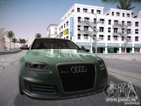 Audi RS6 2009 für GTA San Andreas