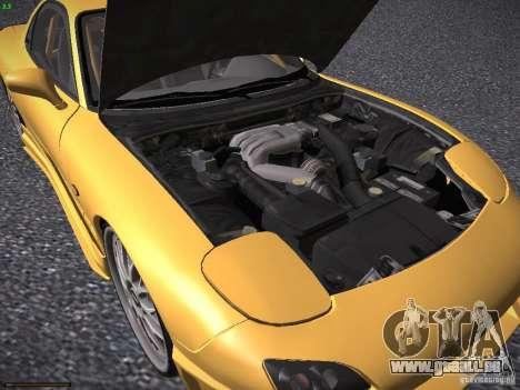 Mazda RX-7 FD3S C-West Custom für GTA San Andreas Innenansicht