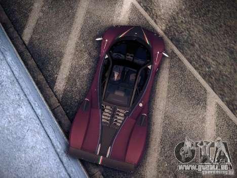 Pagani Zonda Tricolore 2010 für GTA San Andreas linke Ansicht