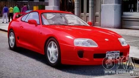 Toyota Supra MKIV 1995 v2.0 Final für GTA 4 linke Ansicht