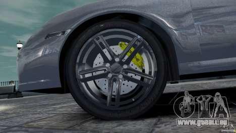 Porsche Targa 4S 2009 für GTA 4 Innenansicht