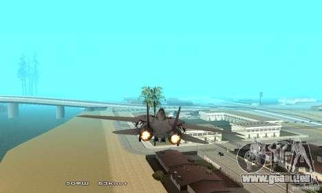 F14W Super Weirdest Tomcat Skin 1 für GTA San Andreas Innenansicht
