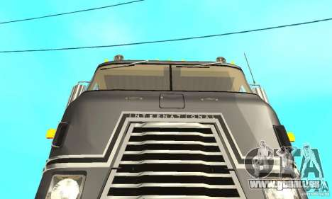 International Transtar II 1975 für GTA San Andreas Innenansicht