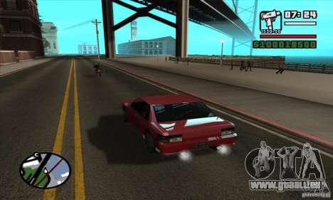 Enb Series HD v2 pour GTA San Andreas deuxième écran