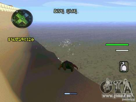 HUD Convenient and easy BETA für GTA San Andreas her Screenshot