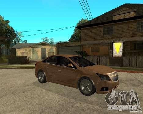 Chevrolet Cruze pour GTA San Andreas vue de droite