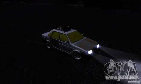 Look Rat 21099 VAZ pour GTA San Andreas vue intérieure