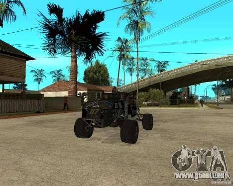 BAJA BUGGY pour GTA San Andreas sur la vue arrière gauche