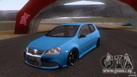 VW Golf 5 R32 2006 StanceWorks für GTA San Andreas