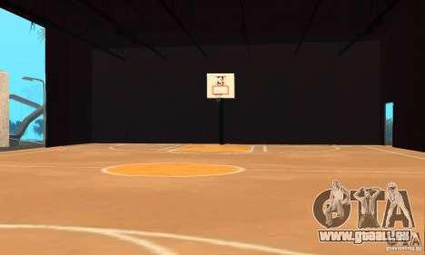 Basketball Court v6.0 pour GTA San Andreas deuxième écran