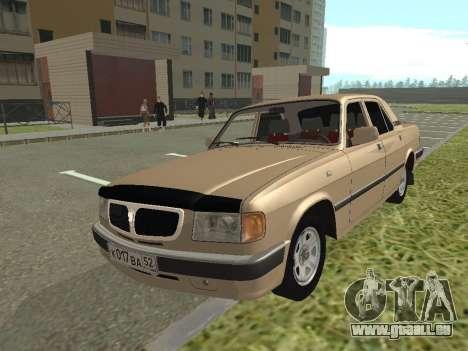 GAZ 3110 Wolga für GTA San Andreas