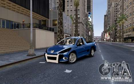 Peugeot Hoggar Escapade pour GTA 4